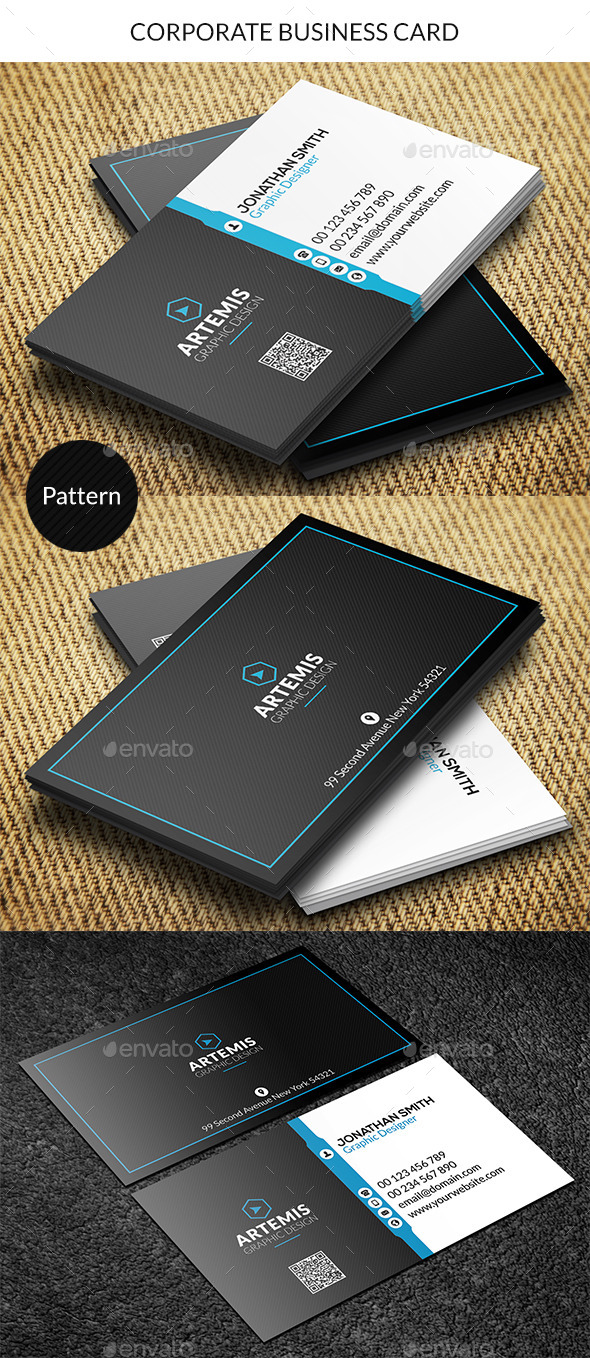 GraphicRiver Corporate Business Card 8868063