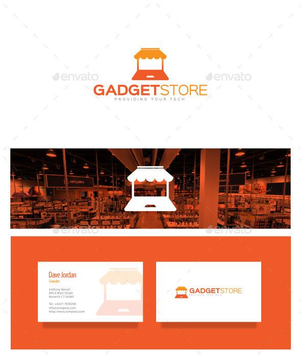 GraphicRiver Gadget Store Logo 8868083