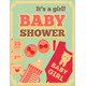Baby Shower Retro Poster - GraphicRiver Item for Sale