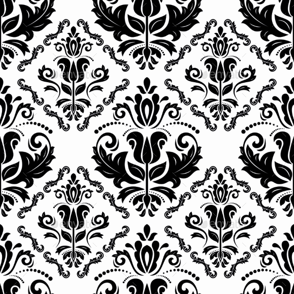 GraphicRiver Orient Seamless Vector Pattern Abstract Background 8868086