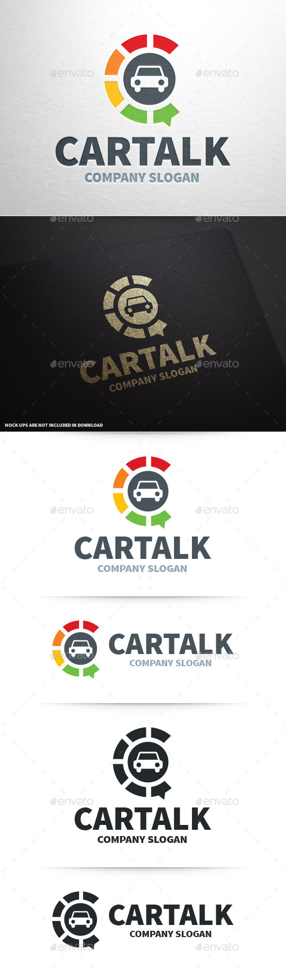 Car Talk Logo Template