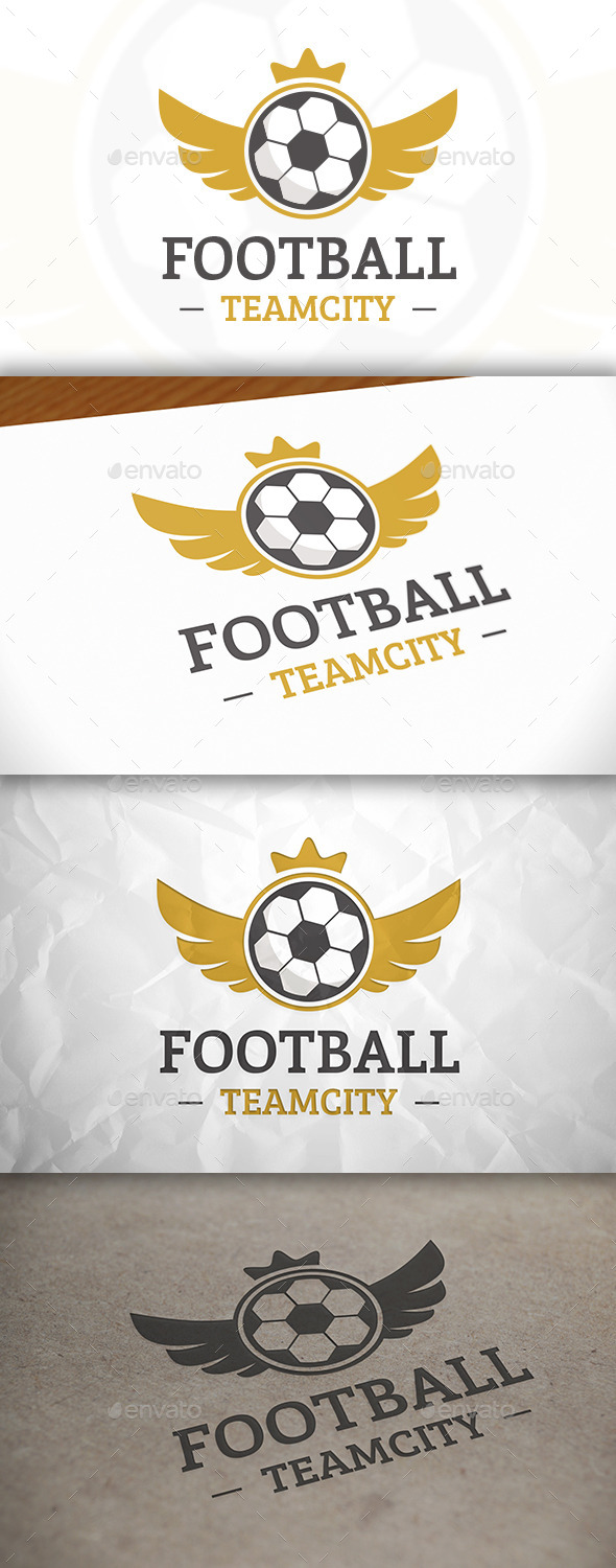 GraphicRiver Football Wings Logo 8868428