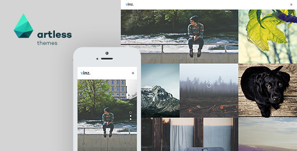 Vinz - Portfolio & Photography HTML Template
