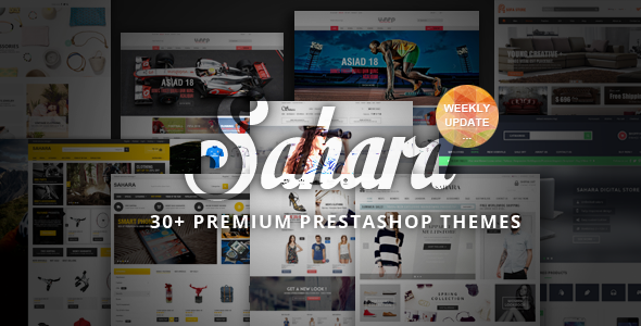 ThemeForest SAHARA Ultimate Responsive Prestashop Theme 8868575