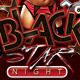 Black Star Special Night Party In Club - GraphicRiver Item for Sale