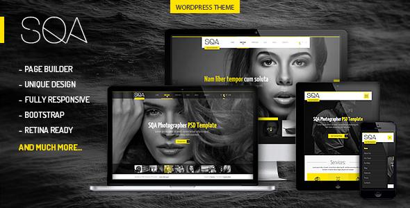 SQA - WordPress Portfolio & Photography Theme - Photography Creative