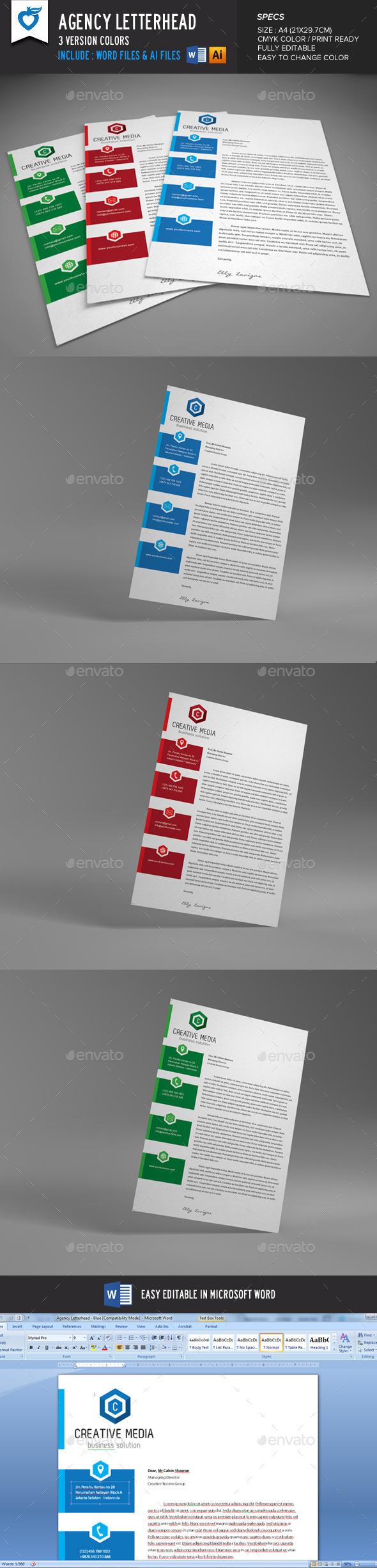 Agency Letterhead