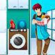Man doing Laundry - GraphicRiver Item for Sale