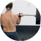 Man at the Gym Preparing and Training - VideoHive Item for Sale