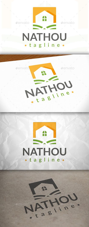 GraphicRiver Natural House Logo 8870497