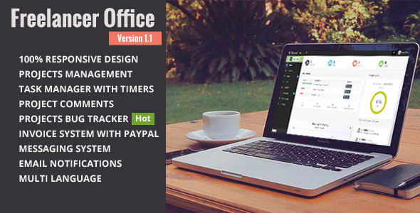 CodeCanyon Freelancer Office 8870728