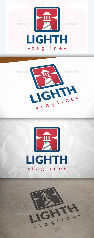 GraphicRiver Lighthouse Modern Logo 8871020