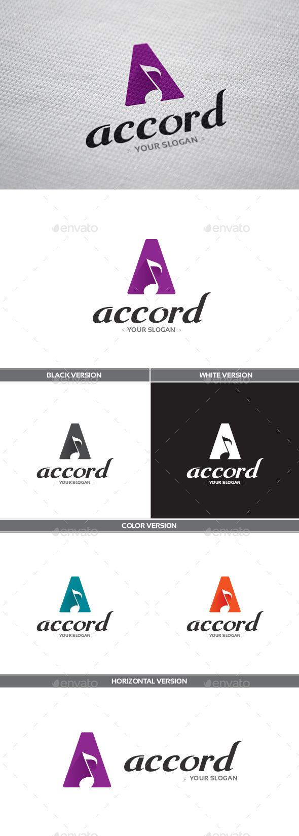 GraphicRiver Accord Logo 8871079