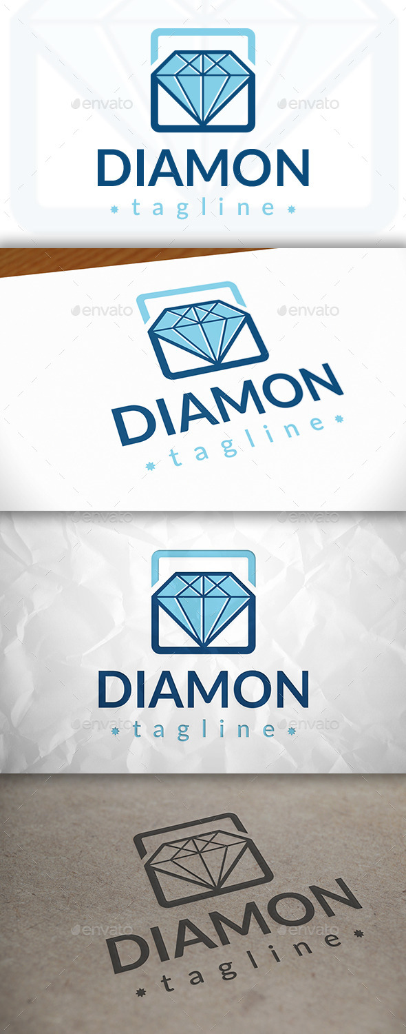 GraphicRiver Diamond Logo 8871198