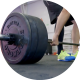 Man at the Gym Lifting Weights - VideoHive Item for Sale