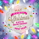 Holiday Type Design and Christmas Light - GraphicRiver Item for Sale