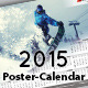 2015 Poster-Calendar template - GraphicRiver Item for Sale