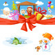 Christmas Design with Nativity - GraphicRiver Item for Sale