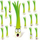 Green Onion Cartoon  - GraphicRiver Item for Sale