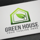 Green House Logo - GraphicRiver Item for Sale