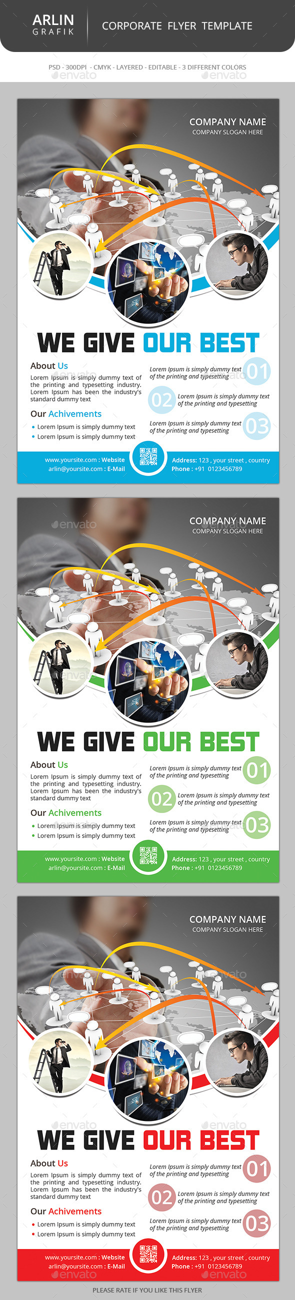 GraphicRiver Simple Flyer Template 8803279