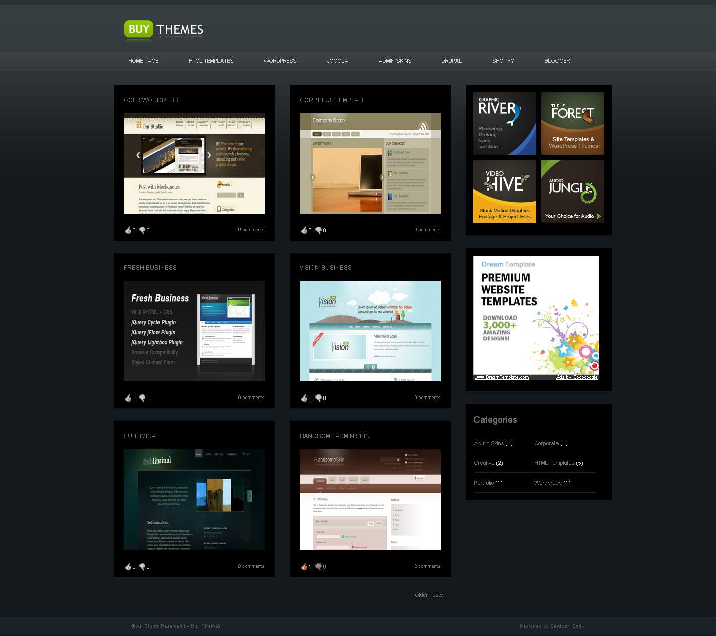 Buy Themes - Blogger Gallery Template - Home of Buy Themes