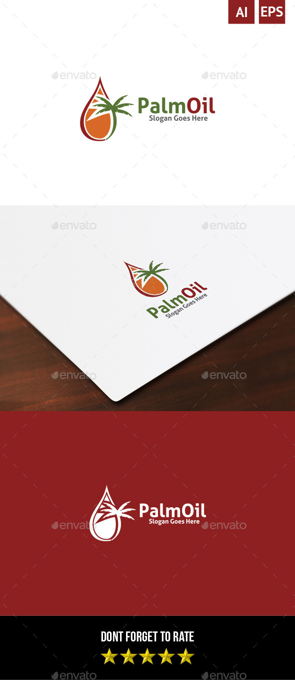 GraphicRiver Palm Oil Logo 8872931