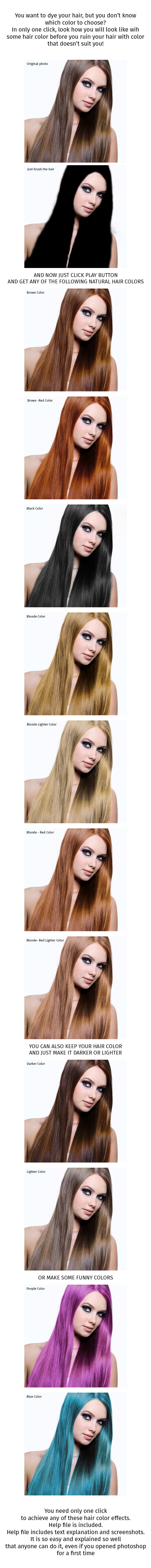 GraphicRiver Hair Color Effect 8872948