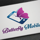 Butterfly Mobile Logo - GraphicRiver Item for Sale