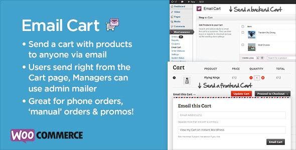 Email Cart for WooCommerce - CodeCanyon Item for Sale