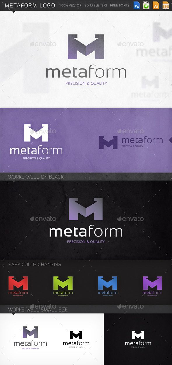 GraphicRiver Metaform Logo 8873074