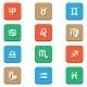 Zodiac Icons - GraphicRiver Item for Sale