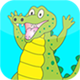 Crocodile Slide Puzzle – HTML5 Game