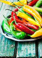 Chili Peppers, Colorful Spicy Peppers - PhotoDune Item for Sale