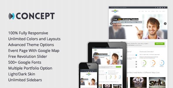 Concept - Multi-Purpose Wordpress Theme
