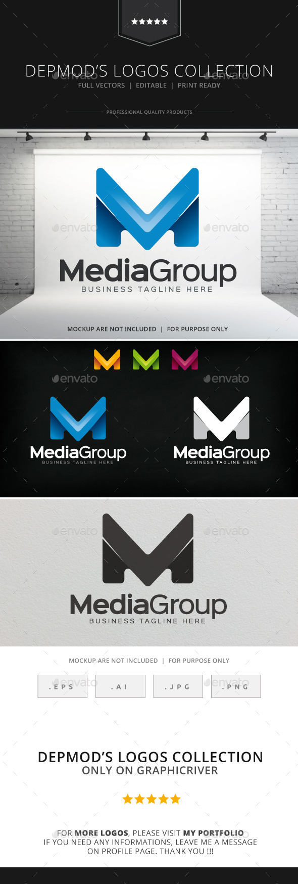 GraphicRiver Media Group Logo 8874970