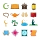 Islam Icons Set - GraphicRiver Item for Sale