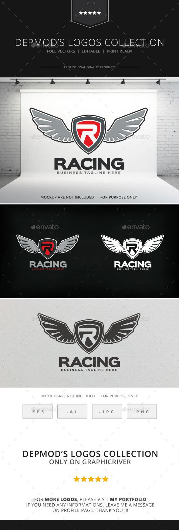 GraphicRiver Racing Logo 8875361