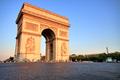 Arc de triomphe at Sunset, Paris - PhotoDune Item for Sale