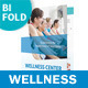 Wellness Center Bifold / Halffold Brochure - GraphicRiver Item for Sale