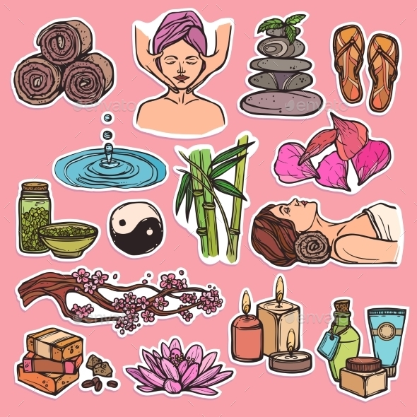 GraphicRiver Spa Icons 8875796