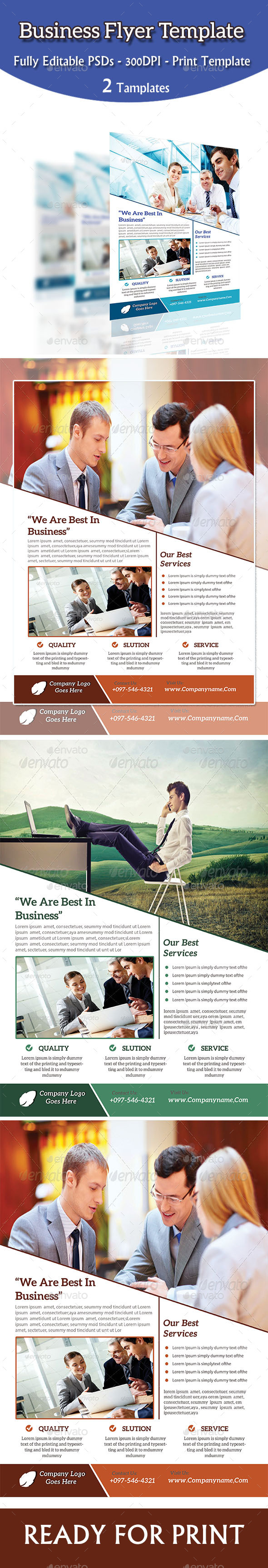 GraphicRiver Business Template Flyer 8875818