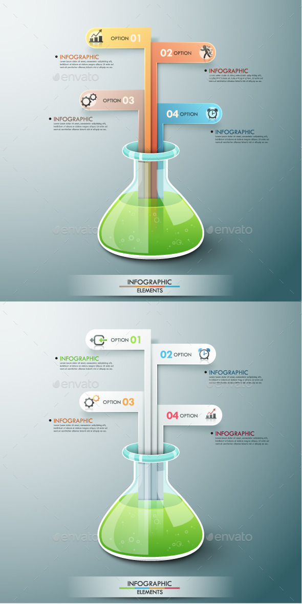 GraphicRiver Modern Infographic Template 2 Items 8876278