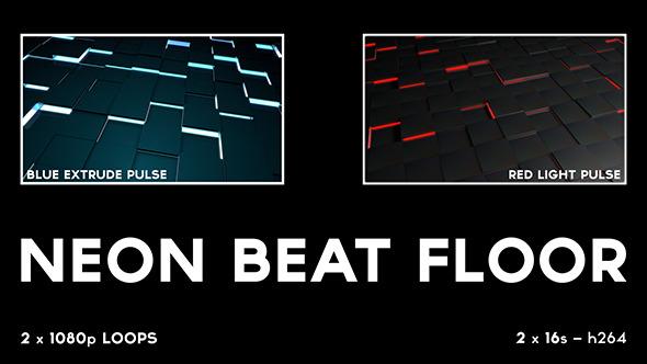 Neon Beat Floor