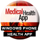 Medical Health App With CMS - Windows Phone