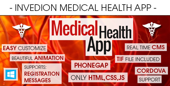 Medical Health App With CMS - Windows Phone - CodeCanyon Item for Sale