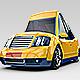 3D Cartoon Car 2 - GraphicRiver Item for Sale