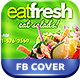 Salads Restaurant FB Cover - GraphicRiver Item for Sale