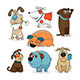 Set of Dogs - GraphicRiver Item for Sale