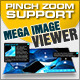 jQuery Mega Image Viewer - animated zoom and pan